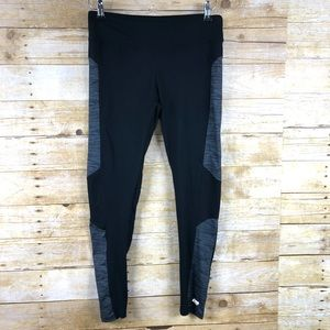 Marika Black and Gray Work Out Leggings Sz M
